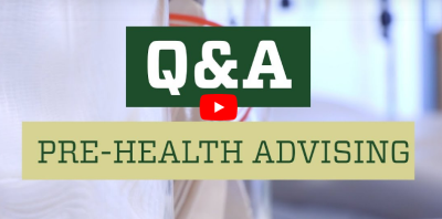 YouTube Video about Q&A Pre Health Advising